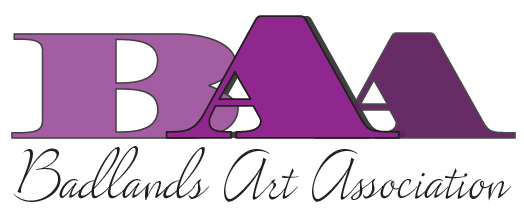 Badlands Art Association color logo