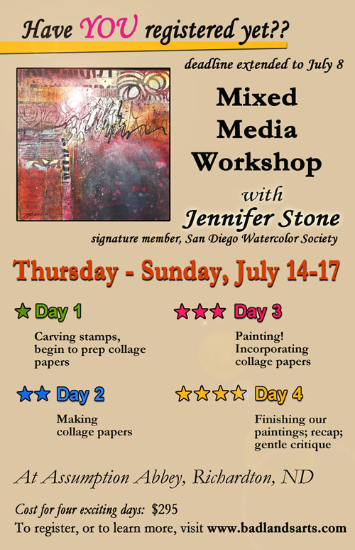 Promo larger card - days 2 Mixed Media Wkshp lf WEB