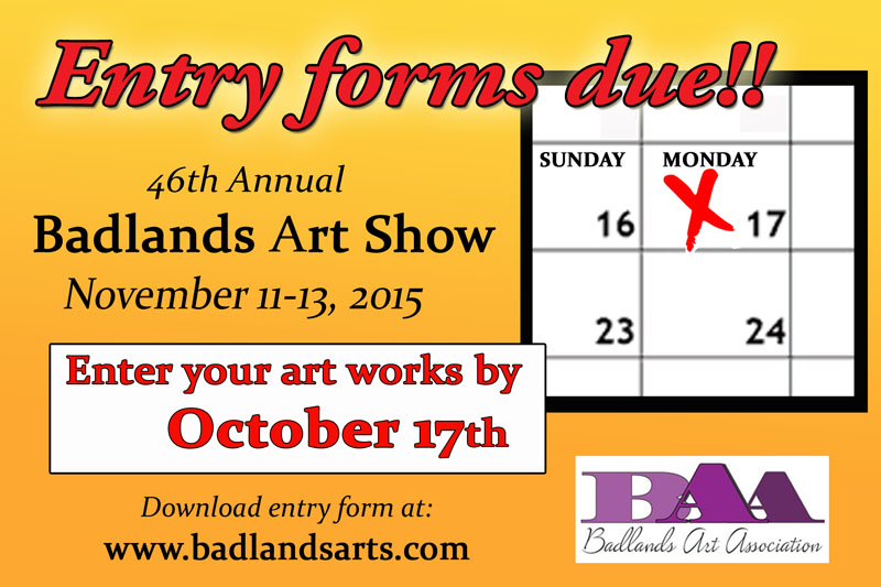 Badlands Arts Show